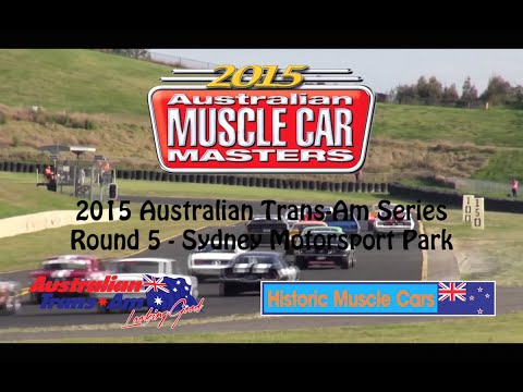 Australian Trans-Am/NZ HMC at the 2015 Muscle Car Masters
