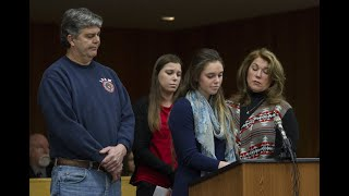 3 sisters, all Larry Nassar victims, make statements in court before their father attacks him