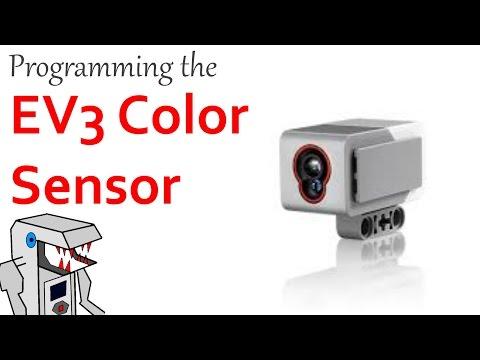 How to Program the EV3 Color Sensor