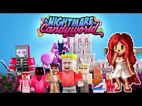 SUGAR RUSH! - Episode 1 - A Nightmare in Candy World [Minecraft Adventure map by: Everbloom studios]
