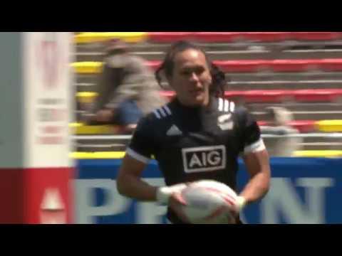 New Zealand speedster Woodman scores great try in Japan
