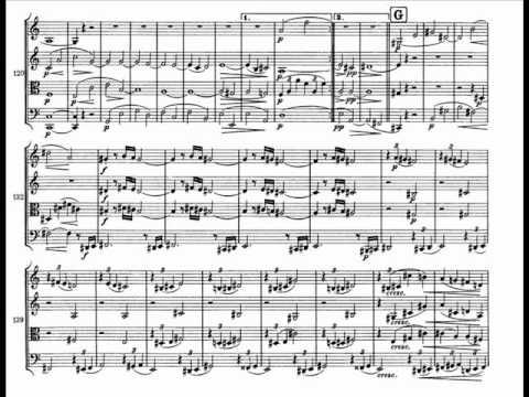 Brahms String Quartet Op. 51 No.2 in A minor [1\4] Allegro non troppo