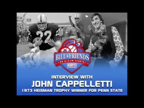 John Cappelletti Interview on The Bill & Friends Show (610 AM Philly / ESPN Radio)