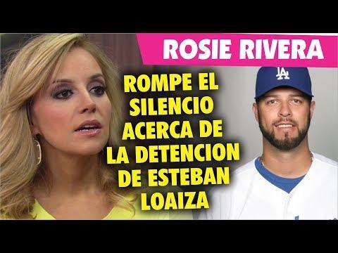 Rosie Rivera ROMPE EL SILENCIO sobre la detención de su ex cuñado Esteban Loaiza