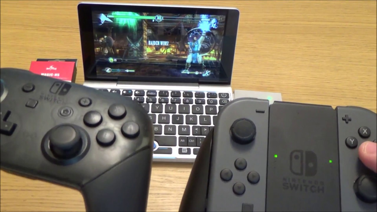 How to Use a Nintendo Switch Pro Controller & JoyCon on PC STEAM Games