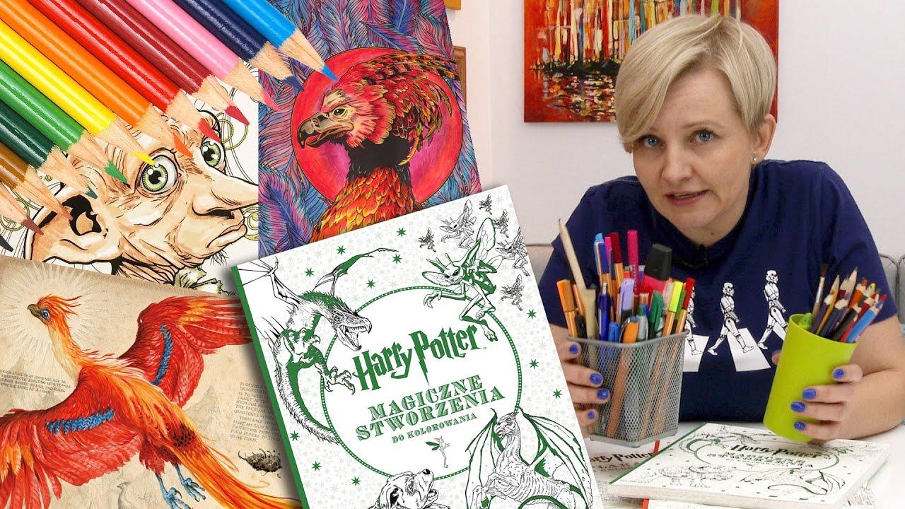 Harry Potter Seria Książek Do Kolorowania Wydawnictwo