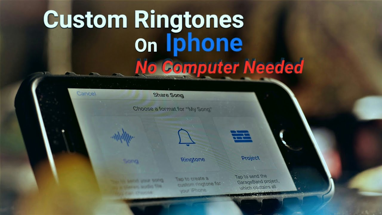 how to put ringtones on iphone 5s with itunes
