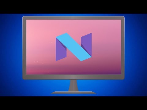 Run Android Nougat on PC