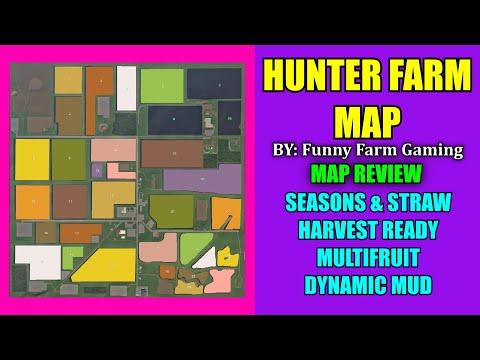 "Hunter Farm Map ""Map Review"" Farming Simulator 19"