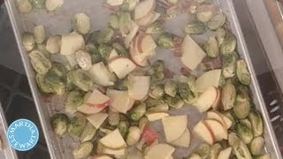 Brussels Sprouts With Bacon And Apples  - Martha Stewart
