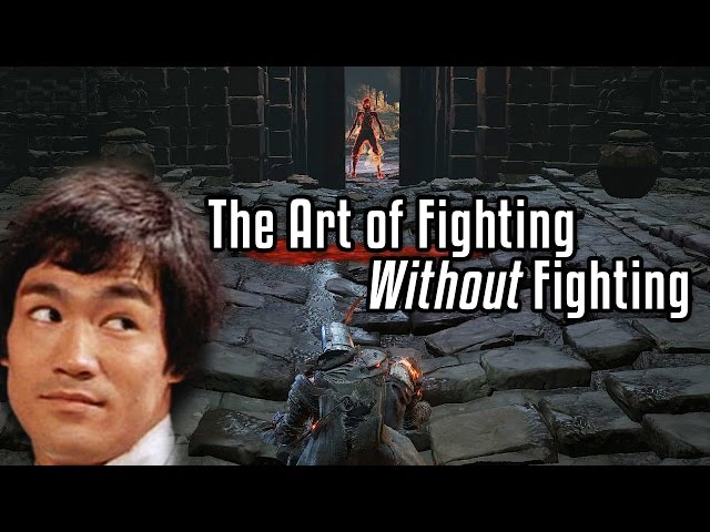 Dark Souls 3 The Art Of Fighting Without Fighting 60fps Pc Youtube