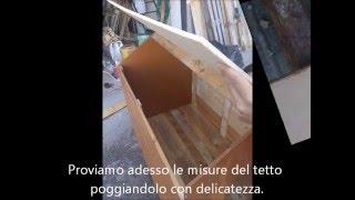 Come costruire cuccia per cani FAI-DA-TE (Legno riciclato, prezzo basso) - Pastore tedesco