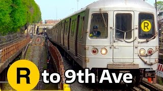⁴ᴷ R Trains Terminating at 9th Avenue on the D Line