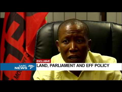 EXCLUSIVE: Julius Malema on land, Parliament and EFF policy