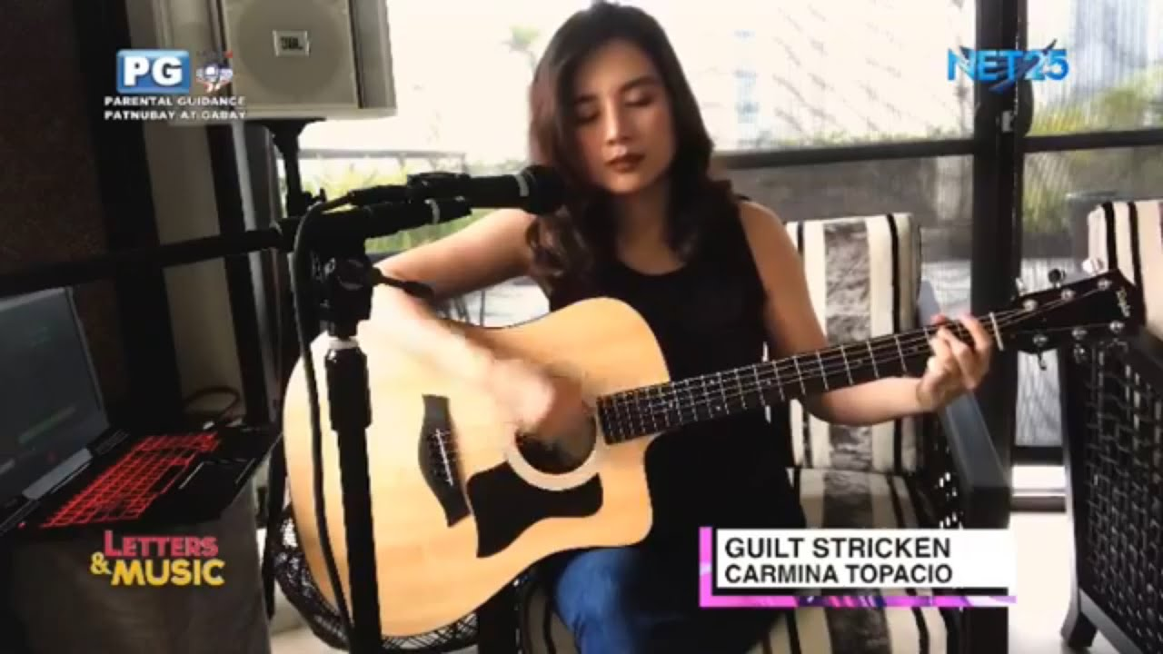 "Carmina Topacio on air and onlive at Net25 ""Letters and Music"""