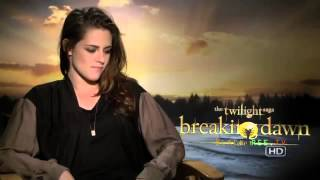 Kristen Stewart Interview for Twilight Breaking Dawn Part 2