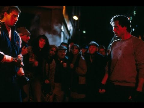 Rocky 5 - Rocky vs Tommy in a street fight - YouTube