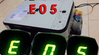 เครื่องปริ้นขึ้น E05 วิธีแก้ง่ายๆ