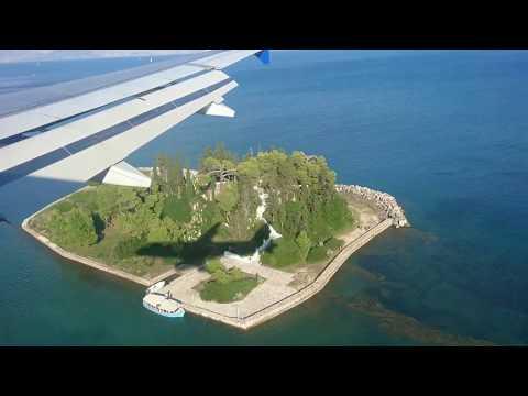 DE1596   Condor   MUC-CFU   Landeanflug auf Korfu - 2016.09.22
