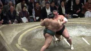 20130927 大相撲秋場所 13日目 高安vs 豊響.