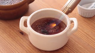 クリームブリュレ・ショコラの作り方 Crème Brûlée Chocolat|HidaMari Cooking