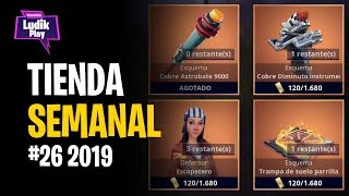 WEEKLY STORE #26 2019: ASTROBATE 9000, DIMINUTO MORTAL INSTRUMENT ? FORTNITE SAVE THE WORLD