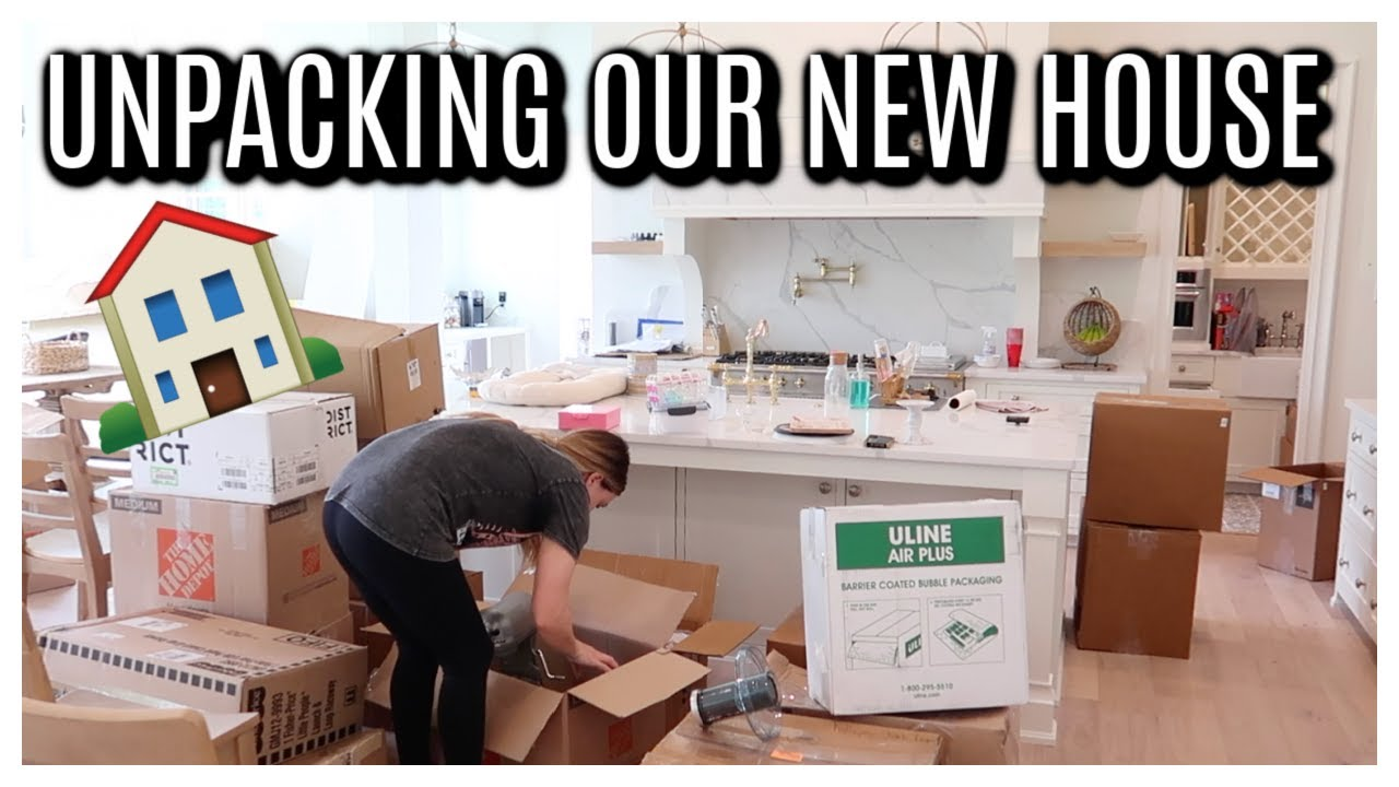 UNPACKING OUR NEW HOUSE | Tara henderson