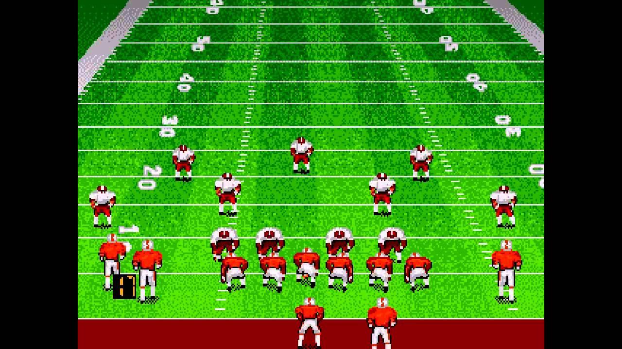 Bill Walsh College Football Sega Genesis Youtube