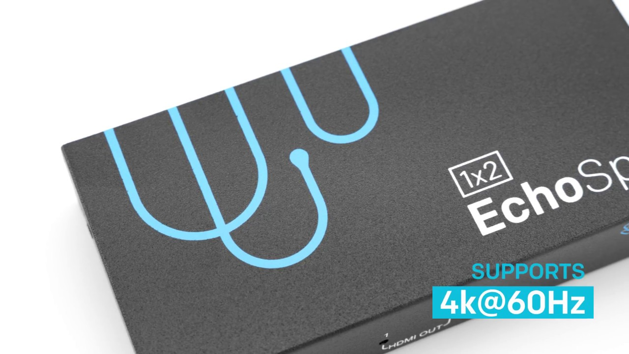 EchoSplit - 4k HDMI Splitter with built-in Downscaler!