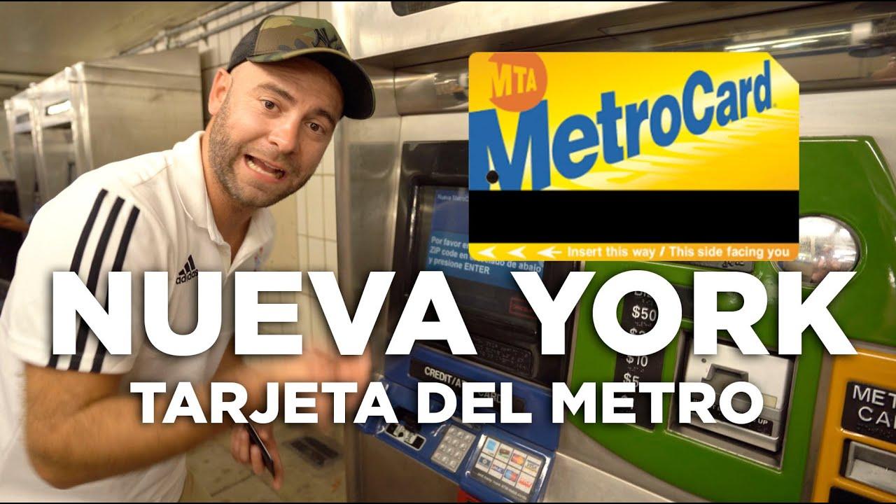 Cómo Comprar La Tarjeta Del Metro En Nueva York Molaviajar Youtube
