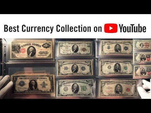 BEST UNITED STATES CURRENCY COLLECTION - rare paper money and banknotes