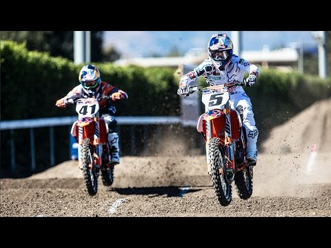 Motocross video Head-to-Head MX Racing Straight Rhythm