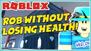 ROBLOX JAILBREAK WIE MAN JEWELRY STORE OHNE LOSING ANY HEALTH!