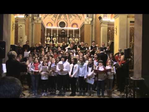 Coro Tre Ponti e Coro San Giorgio - Christmas angels - Mercurago 23 dicembre 2014