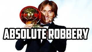 Did Modric Really Deserve the Ballon d'Or?