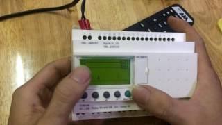 Hướng dẫn lập trình cơ bản bằng tay trên Plc của hãng schneider (Zelio logic)