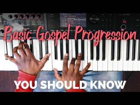 Basic Gospel Progression You Should Know #1
