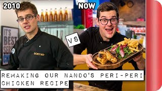 Remaking and Reviewing our old Nando's Peri-Peri Chicken Recipe | 2010 vs 2018