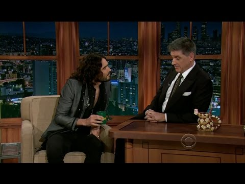Late Late Show with Craig Ferguson 2/13/2013 Russell Brand, Allison Williams