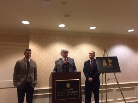 The Alt-Right Press Conference   Richard Spencer, Peter Brimelow & Jared Taylor