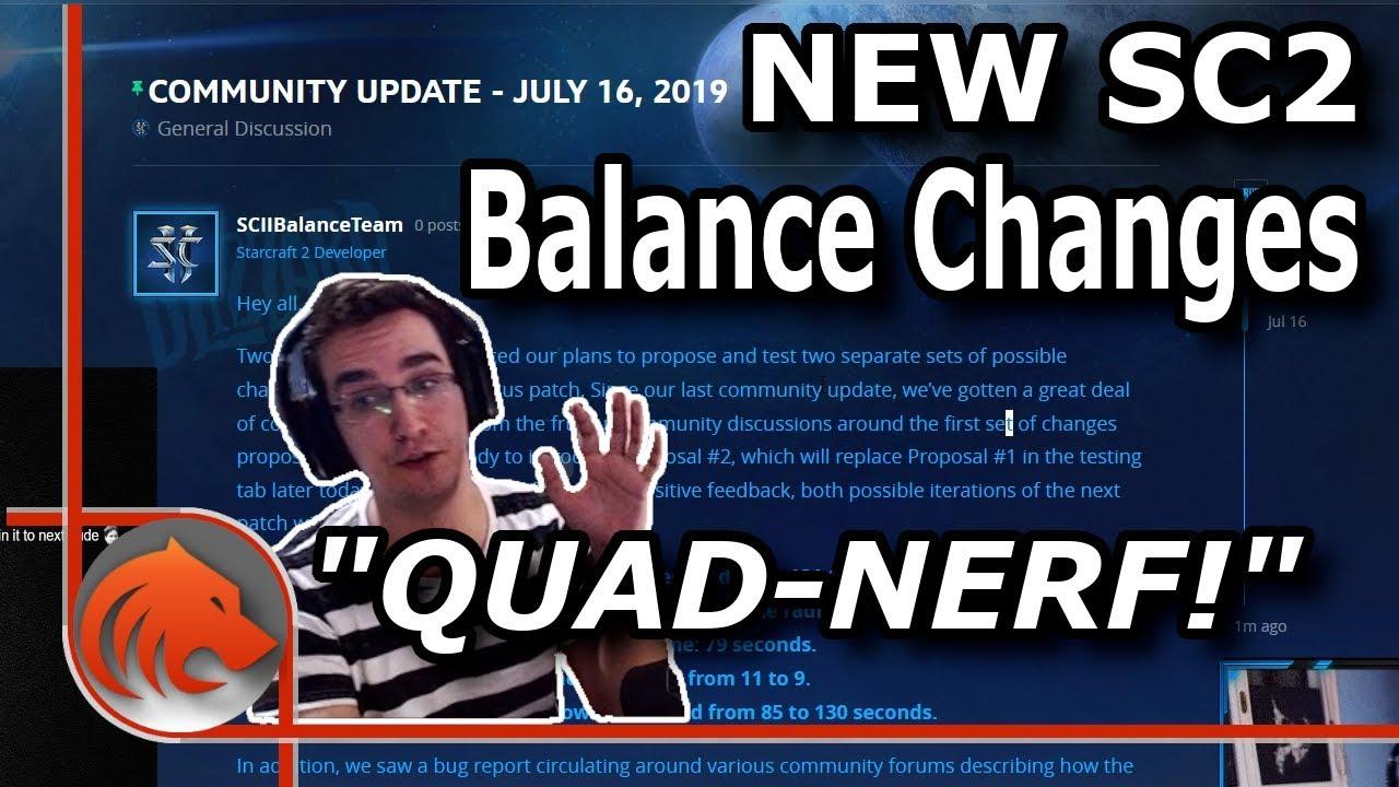 *NEW* Balance Changes! - Zealots & Warp Prism NERFED!