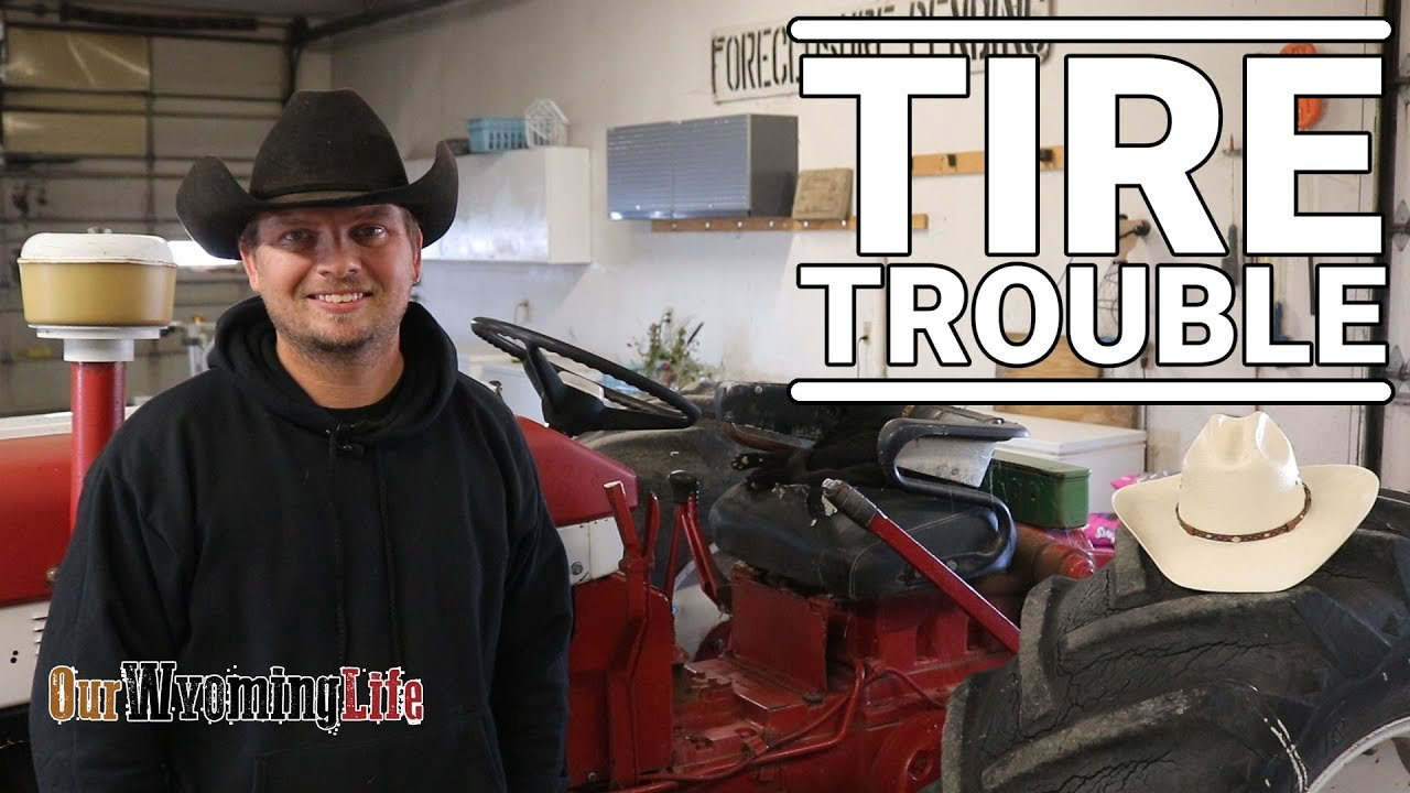 fixing-tires-on-the-ranch-tractors-to-gator-plugs-to-tubes