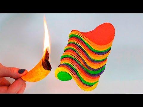 Pringles Tricks | Simple Life Hacks / My Collection Pringles Hacks