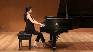 "Rachmaninoff Piano Sonata No. 2 in B-flat minor, Op. 36 1st movement ""Allegro agitato"" 피아니스트 곽지향"