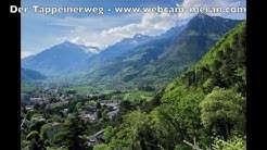 Tappeinerweg Meran Südtirol - Panorama Spaziergang oberhalb der Kurstadt