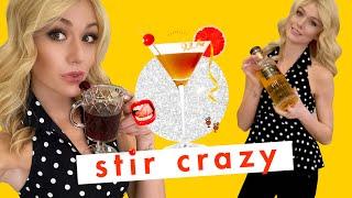 Spiraling Because Actress Katherine McNamara Drinks Whiskey and Wine TOGETHER 😱 | Stir Crazy | Cosmo