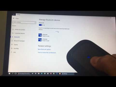 How To Pair Your Bluetooth Mouse With Your Windows Device Pc Youtube