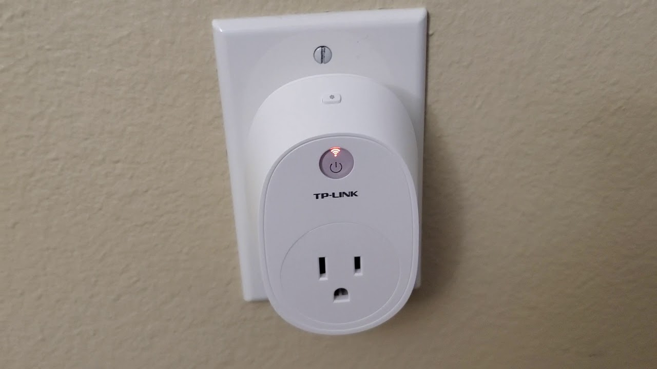 TP-Link HS110 Smart Plug - WiFi LED Light Stays On Amber / Orange -  Defective? - Won't Reset