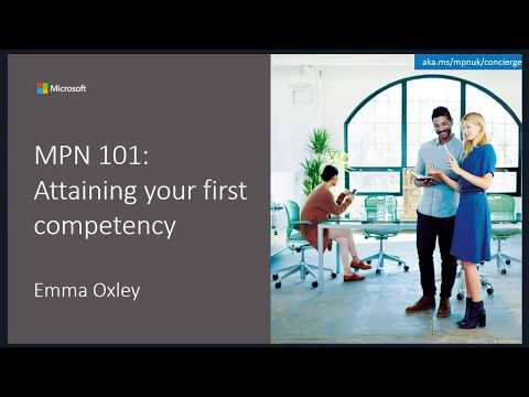 MPN 101: Attaining your first competency