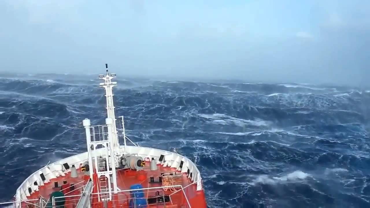 Сильный Шторм в Океане. Корабли в Шторм Подборка